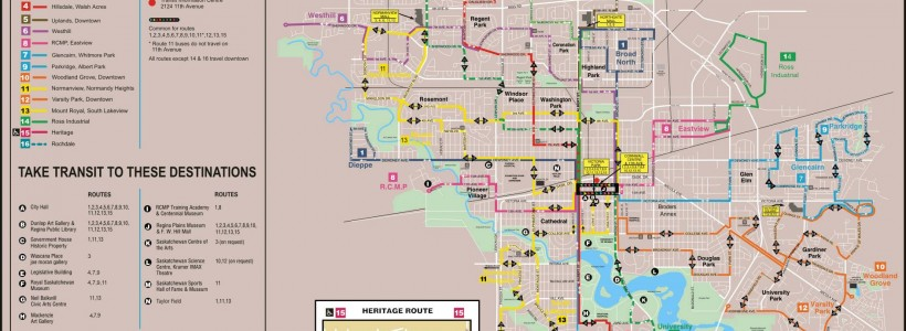 Regina Transit Map RezX » Regina Transit: A Fair Fare (Bill's Right On Blog)